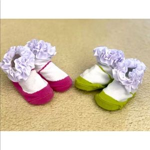 Tippy toe 2 pairs socks sets